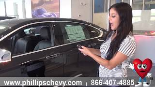 Phillips Chevrolet - 2018 Chevy Impala – Remote Start - Chicago New Car Dealership