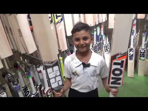 Angad Thakur Buying A New Bat From M3 Sports, Pune