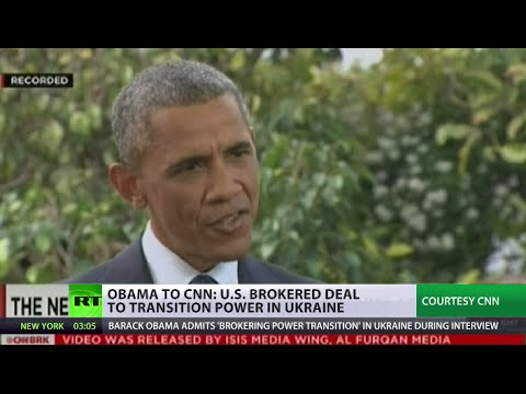 Brokered it & broke it: Obama on Kiev deal that paved path to bloodshed