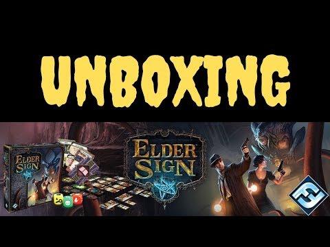 Elder Sign Base Game Unboxing