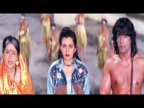 Jungle Love Scene   Tarzan meets his mother   Bollywood Hindi Movie