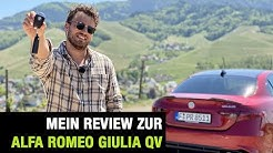 2020 Alfa Romeo Giulia Quadrifoglio 🇮🇹🍀 (510 PS) Fahrbericht | FULL Review | Test-Drive | Sound🏁