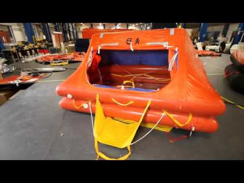 Crewsaver ISO 9650-1 Ocean Liferaft