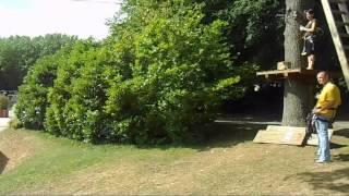 Fourmies(59)Base de loisirs Etang des moines 28 07  201316h Accrobranche adultes