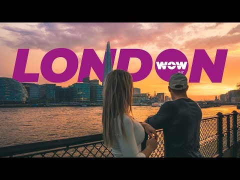 WOW AIR TRAVEL GUIDE APPLICATION - L O N D O N !