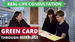 Green card marriage interview consultation with a lawyer - Prepare for your interview with USCIS