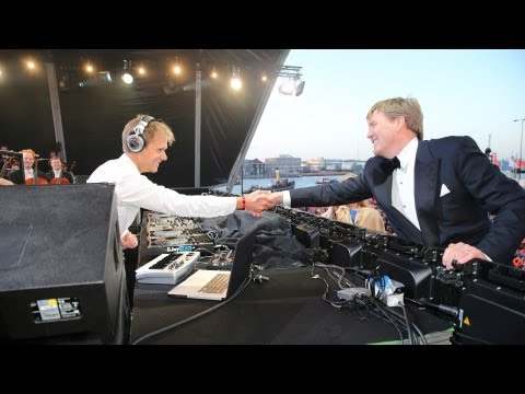 Armin Van Buuren & The Royal Concertgebouw Orchestra Perform For New Dutch King Willem-Alexander