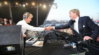 Armin van Buuren & The Royal Concertgebouw Orchestra perform for new Dutch king Willem-Alexander thumbnail