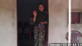 Funeral Held For Female Westerner Killed Fighting ISIS