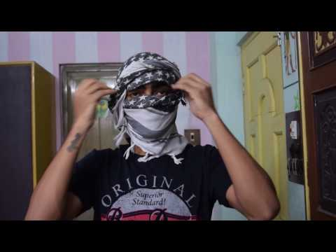 How To Tie Shemagh As Special OPS