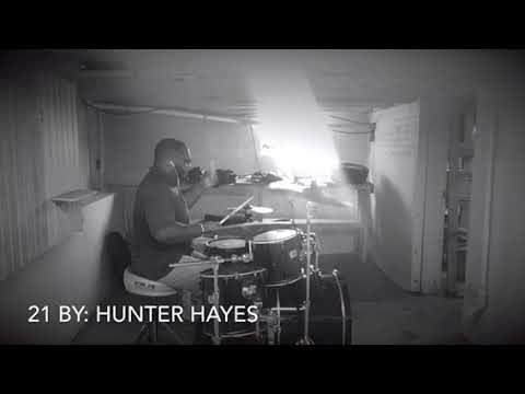 Hunter Hayes-21(drum cover)