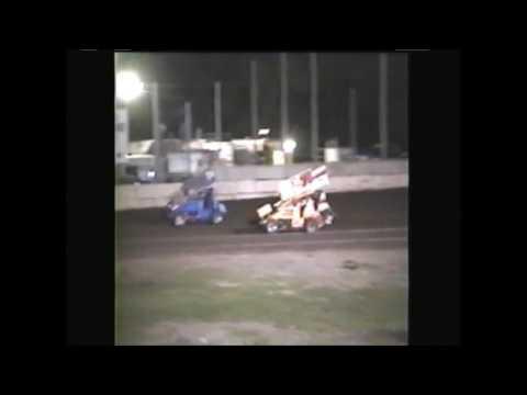 Wilmot Speedway Wilmot WI  Winged Sprint Cars 6/14/03
