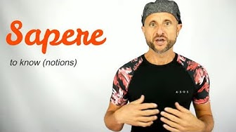 Six meanings of SAPERE - Learn Italian Verbs