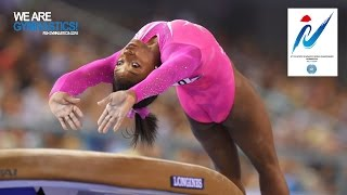 BILES Simone (USA) – 2014 Artistic Worlds, Nanning (CHN) – Qualifications Vault