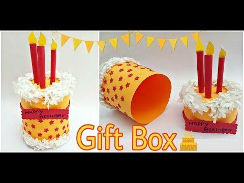 DIY Paper Gift Box - Paper Cake Box - The Blue Sea Art