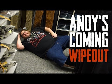 ANDY'S COMING CHALLENGE! (IN PUBLIC)