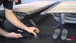Swissflex assembly instructions - feet set single/ double slat base uni 20/21