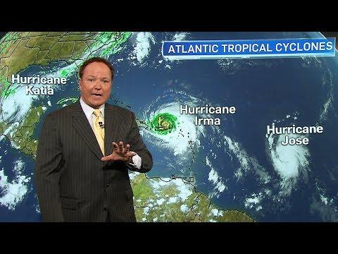 Irma, Jose, Katia: Three hurricanes churning in the Atlantic region