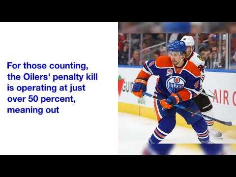 The Edmonton Oilers have the NHL's worst home penalty kill percentage in history