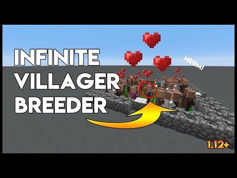 ✔ Minecraft   Infinite Villager Breeder 1.12+