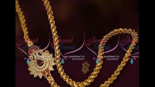 Thali Chain Designs with Side Mugappu_Mangalsutra chain designs thumbnail