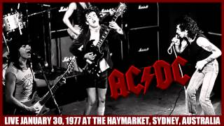 AC/DC Can I Sit Next To You Girl LIVE: At The Haymarket, Sydney, Australia January 30, 1977 HD