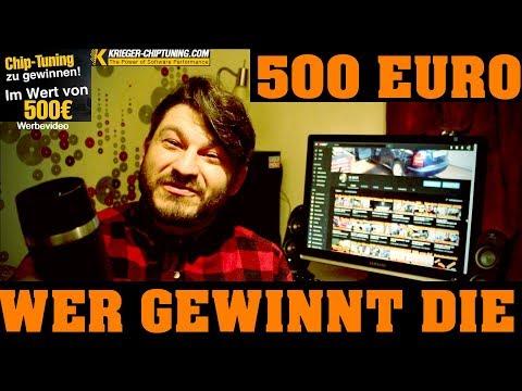 Krieger-Chiptuning - Gewinnspielauflösung 500 EURO Gutschein