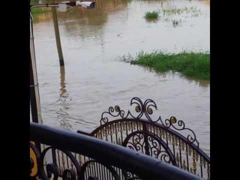 Resident Races Remote Control Speedboat as Floods Hit Saint Helena, Trinidad