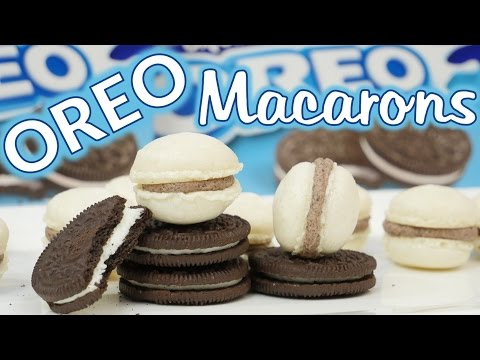 OREO Macarons backen / How to make Oreo Macarons
