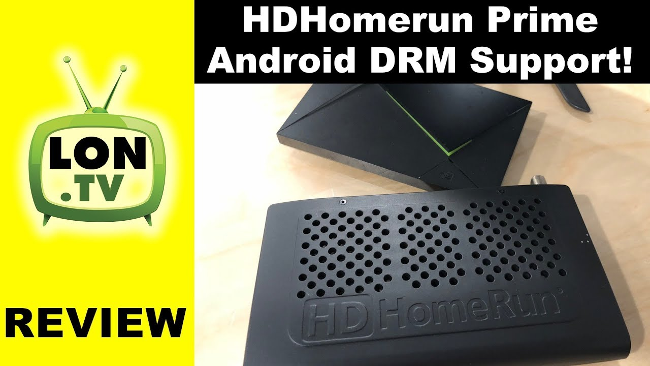 HDHomerun Prime Adds Android DRM Support for Live TV