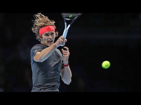 Hot Shot: Zverev Smokes A Forehand Past Federer At The 2018 Nitto ATP Finals