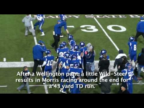 Wellington vs Farwell Football Nov 17, 2011