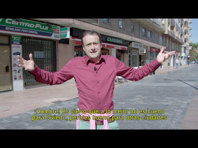 Oventenses de Palo: El candidato liberal.