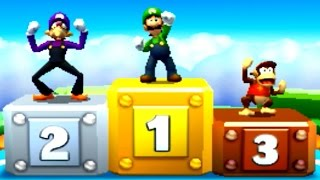 Mario Party Star Rush - Luigi wins by doing absolutely nothing