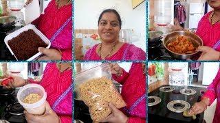 హాస్టల్ కి వెళ్తున్న మా అబ్బాయి కోసం నేను చేసిన snacks||RAMA SWEET HOME