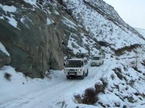 Перевал Кату-Ярык зимой - YouTube
