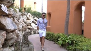 ROWAN ROW - Summer Outfits & 40 minutes workout routine in Marbella