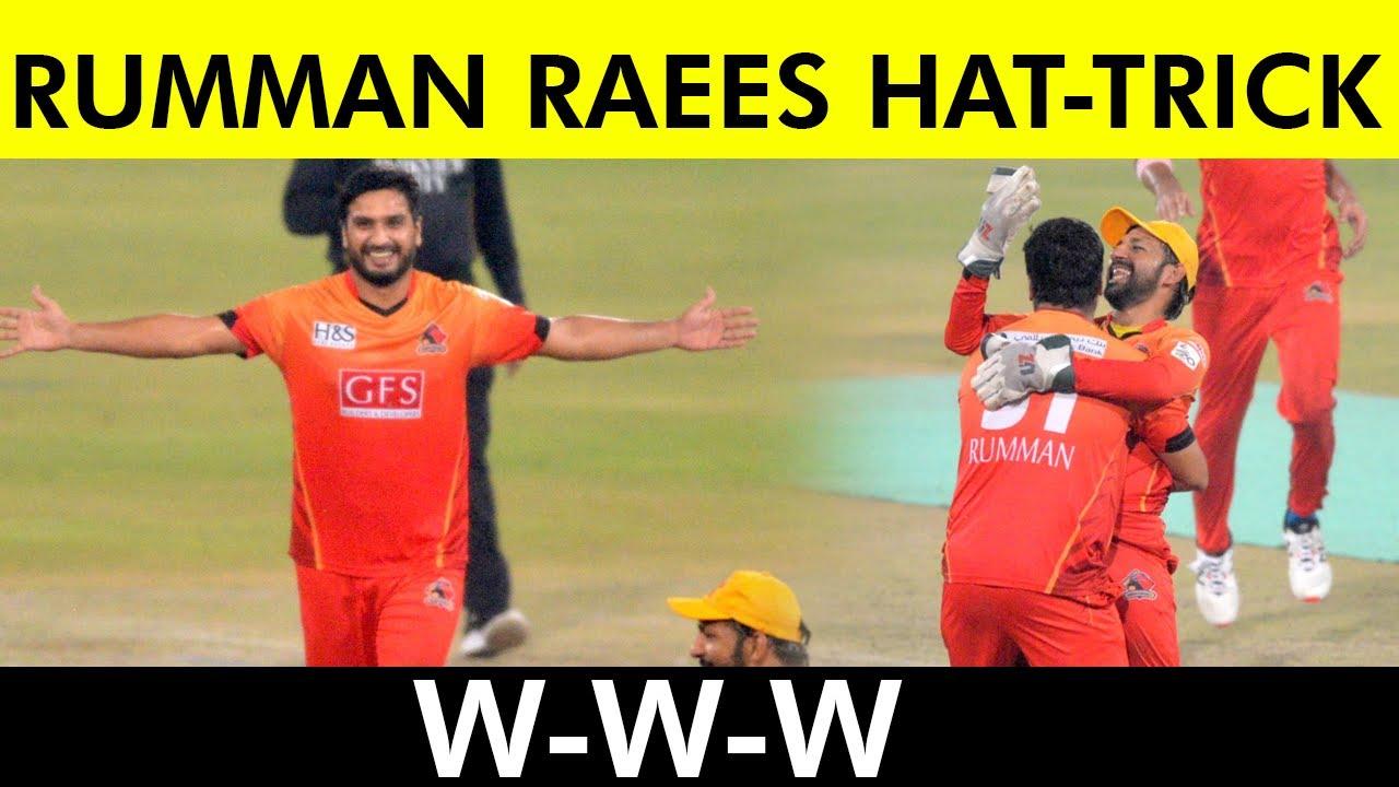 Rumman Raees Hat-Trick   Southern Punjab vs Sindh   Match 24   National T20 2021   PCB   MH1T