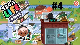 Toca life office | secret desk!! #4