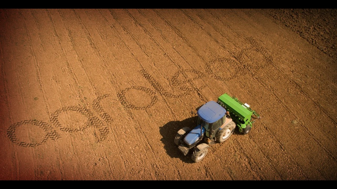 LINA Universal Seed Drill Twin Discs - YouTube