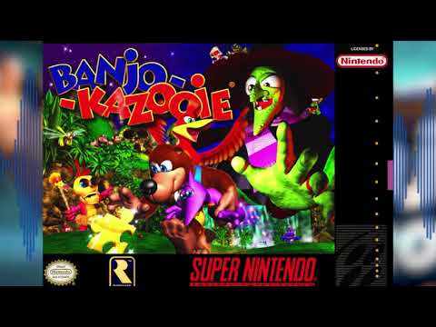 Witch's Lair - Banjo-Kazooie E3 SNES Remix