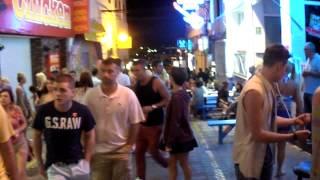 la noche en San Antonio de Portmany (Ibiza)