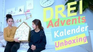 3 Adventskalender Unboxing / Beauty / Baden / Kinder Schminke / kinder_sein