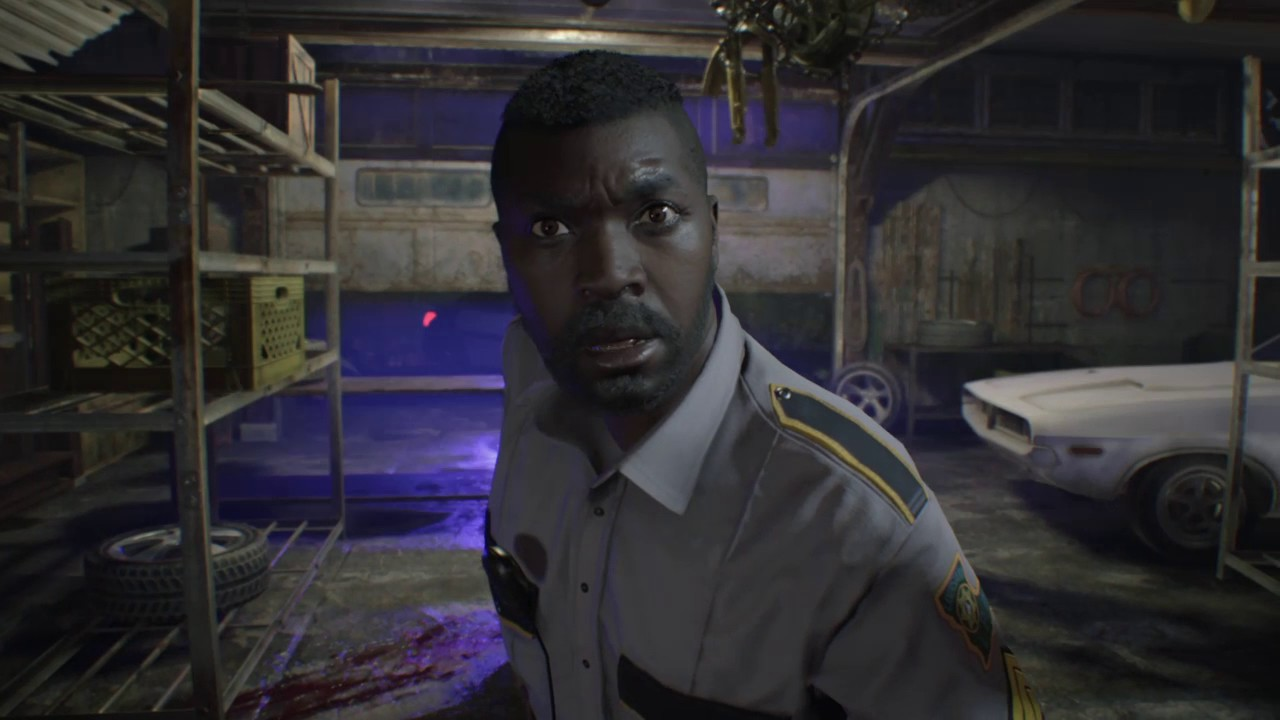 Resident Evil 7 Garage Fight Youtube
