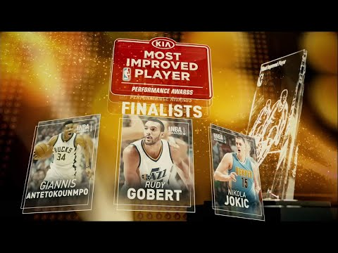 2017 NBA Awards: Kia Most Improved Player Finalists