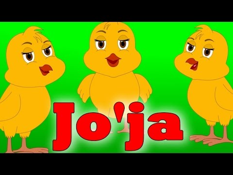 Joja   Узбекские детские песни / Болалар учун кушиклар
