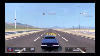Gran Turismo 5 Max G-Force Test Chevy Corvette  Stingray L46 350 (C3) '69
