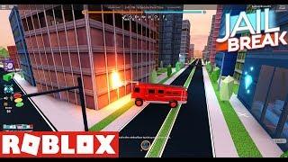 ROBLOX Jailbreak Episodio 3, Nuovo Fuoco, Fuoco e nuova arma! 🚒🔥 ' '