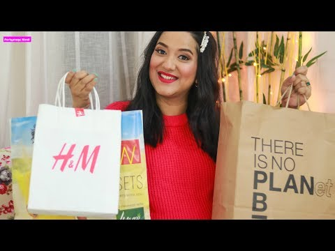Sale Shopping Haul   Myntra Max FBB W Miniso H&M Local Market   Perkymegs Hindi from YouTube · Duration:  14 minutes 38 seconds