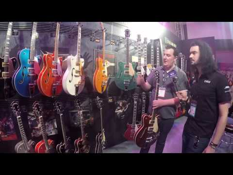 Exclusive Chat with Fred Gretsch Jr & The Rundown on Brand New Gretsch Models at NAMM 2017